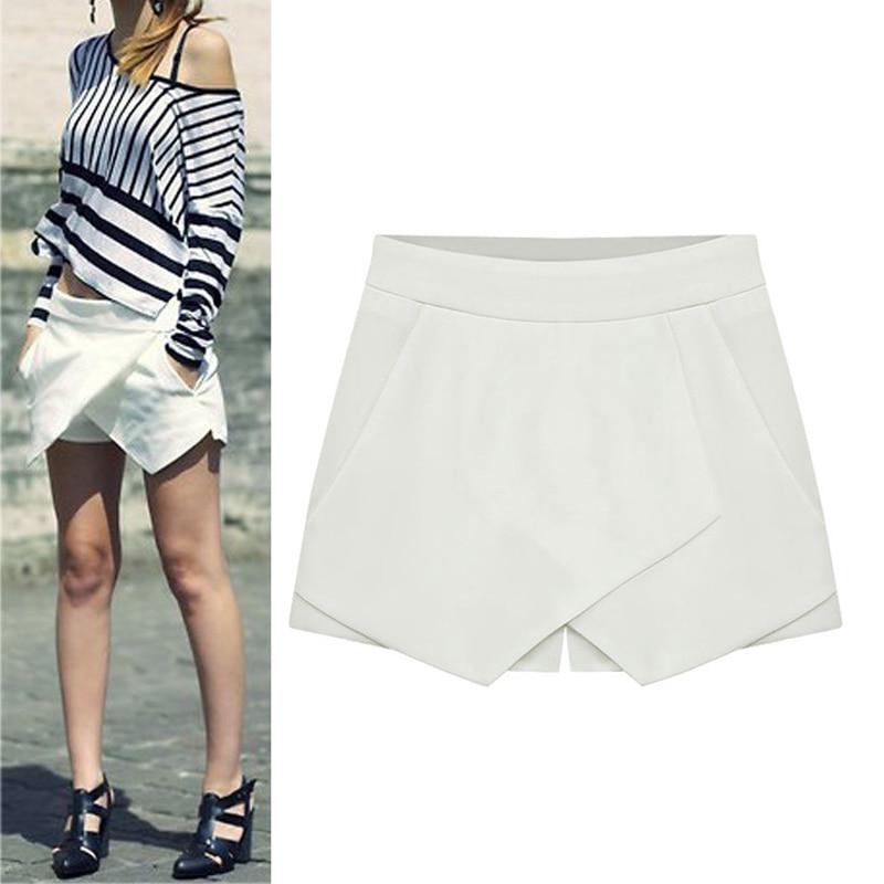 HTB1gu0yHFXXXXaoXVXXq6xXFXXXO - Shorts Culottes New Shorts Skirt Plus Size S-XXL PTC 233