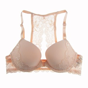 Image 5 - MiaoErSiDai Sexy Girls Bra Set Front Closure Y line Lace Bras for Women Seamless Push Up Big Size For Woman Brassiere Thong A DD