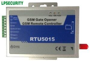 Image 2 - אלחוטי GSM שער פותחן/דלת פותחן + שיחה מזוהה הגישה cotnrol + מרחוק שער שליטה + 64 משתמשים (RTU5015) + GMS דלת אזעקה
