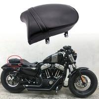 Universal Rear Passenger Pillion Pad Seat For Harley Sportster XL 883 883XL 883C 883N 2007-2013