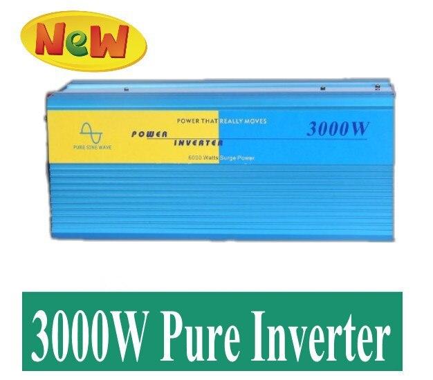 zuivere sinus omvormer 12v 220v 3000W Pure Sine Wave Power Inverter, Solar Inverter, Input DC12V or 24V to output 110v or 230v 5000w pure sinus omvormer pure sine wave inverter 5000w 24v to 120v pv solar inverter power inverter car inverter converter