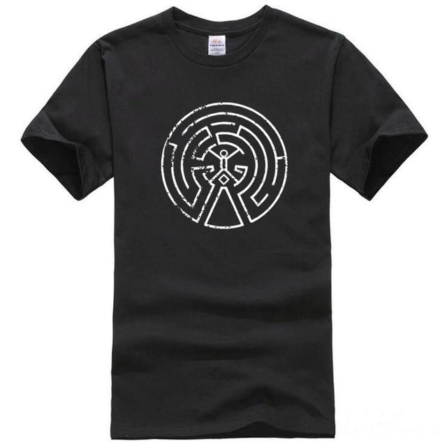 HanHent 2018 New Westworld Maze Printed T Shirts Men Short Sleeve O-neck Cotton West World Dolores Men Fashion T-shirt TV  Tees 4