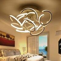 Открытый Потолочные светильники LED 120 Вт кухня лампы для гостиной спальня лампы Лас Luces дель Techo Алюминий потолочный светильник светильники