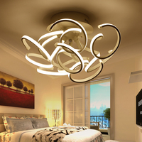 Ceiling Lights Led 120w Kitchen Lamps For Living Room Bedroom Lamp Las Luces Del Techo Aluminum