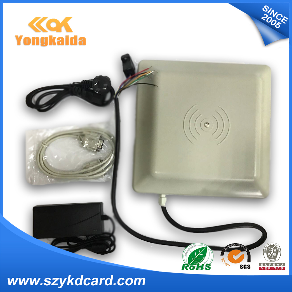 epcgen2 Passive Reader Yongkaida Uhf Rfid Antenna Card Reader 5m Long Distance Read Range Rs485/rs232 Iso 18000-6c