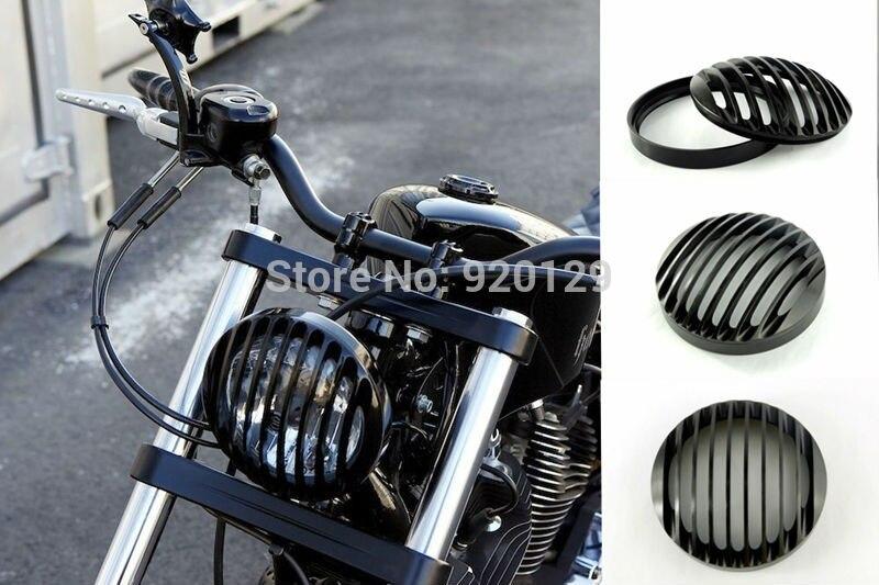 Motorcycle Black Cnc Headlight Bezel Cover For Harley Dyna Sportster Softail 48 XL 883 1200 mtsooning timing cover and 1 derby cover for harley davidson xlh 883 sportster 1986 2004 xl 883 sportster custom 1998 2008 883l