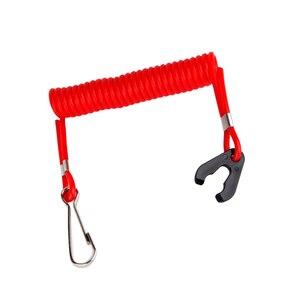 Красный Пластик Безопасность гвардии лодочный мотор подвесной Выключатель Ключ лайард зажигания для водных видов спорта, катание на лодка...