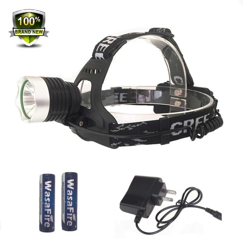 Heißer Verkauf leistungsstarke scheinwerfer 1800 Lumen 10 Watt XM-L T6 Led-scheinwerfer fahrradbeleuchtung Coal Miner Focus LED Stirnlampe Taschenlampe Outdoor