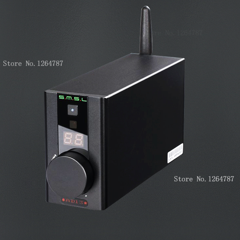 2016 New SMSL AD13 Multi-Function Bluetooth 4.0 Mini HIFI Digital Amplifier Audio Power Amplifier 30W*2 TAS5766M USB DAC Decoder 7 inch black touch screen for irbis tx76 tablet glasss sensor replacement