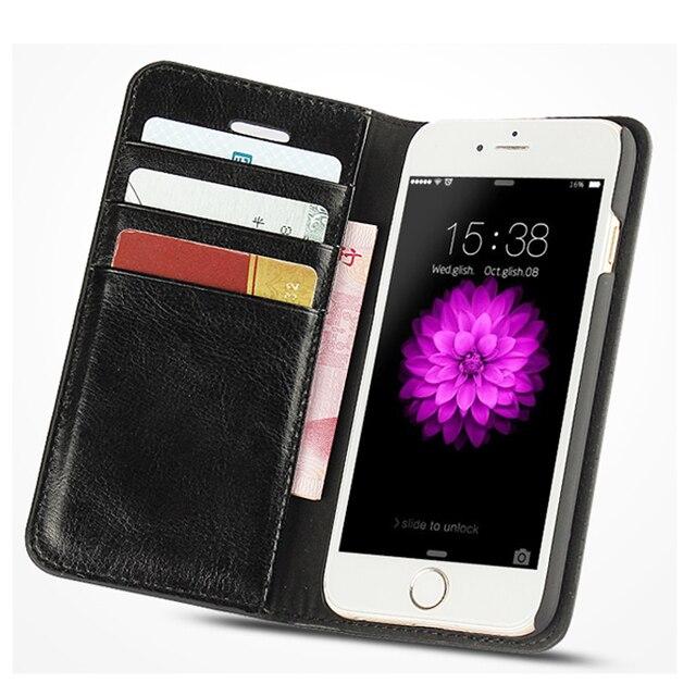 Đối với iPhone X Trường Hợp Bìa cho iPhone 8 7 6 6 S Cộng Với 5 5 S 5SE Sang Trọng PU Leahter Yên Lật Wallet Trường Hợp Điện Thoại Coque Fundas