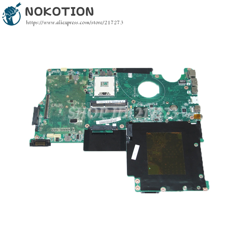 NOKOTION A000053720 MAIN BOARD For Toshiba Qosmio P505 X505 Laptop Motherboard PM55 DDR3 with graphics slot a000053140 fit for toshiba qosmio x500 x505 p500 p505 laptop motherboard 100% fully tested