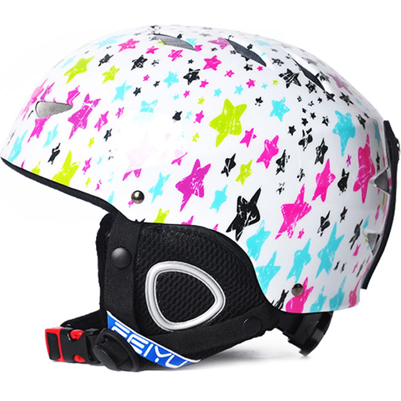 399105053027 2019 3 10 Age Kids Ski Helmet Snowboard Helmet Winter Snow Windproof ...