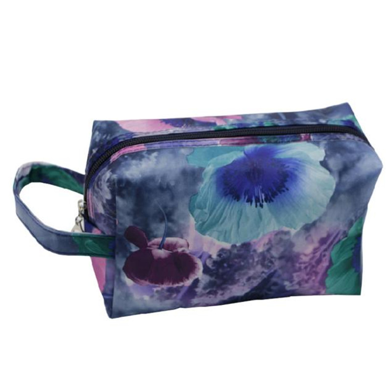 Woweino 2016 New Fashion Portable Waterproof Women Makeup Bag Make Up Storage Organizer Box Beauty Case Travel Pouch Ben Twill