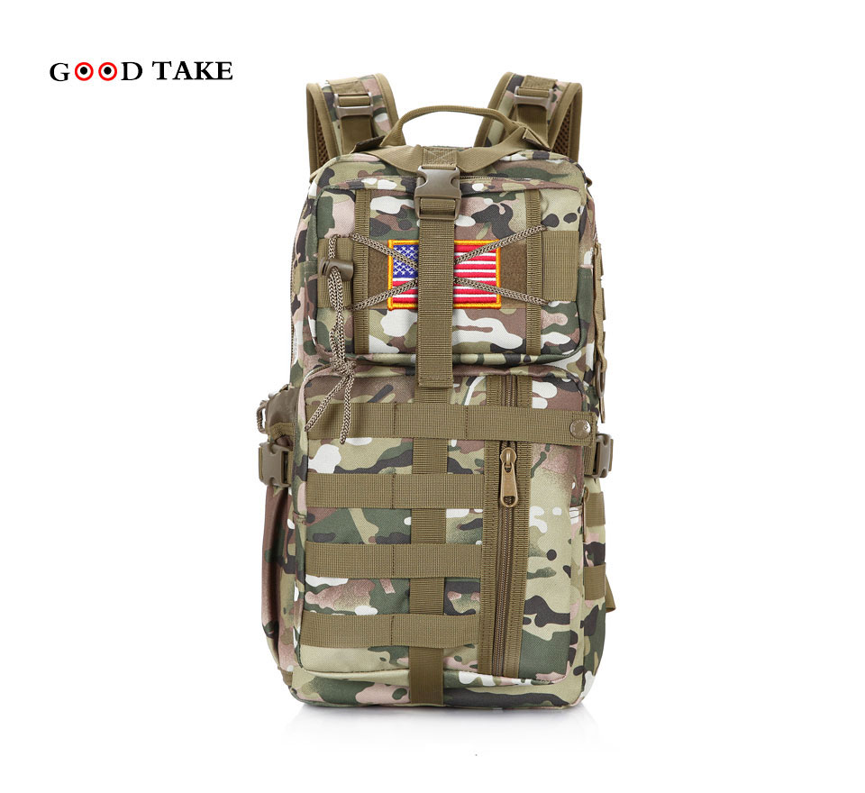 GOODTAKE high quality Vintage Backpacks!Hot Army Messenger Carrier Multi-use Double-shoulder bags casual saddle