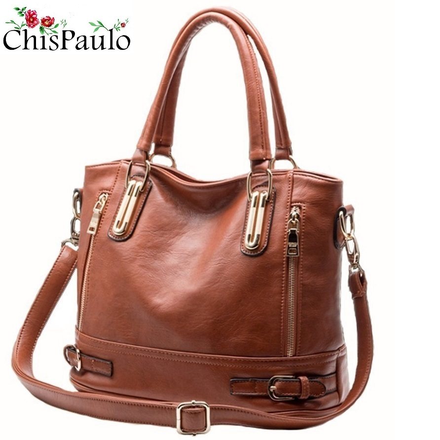 Women Bag 2019 Luxury Brand Designer Casual Women Genuine Leather Handbags Fashion Women's Shoulder Messenger Bags For Women X18