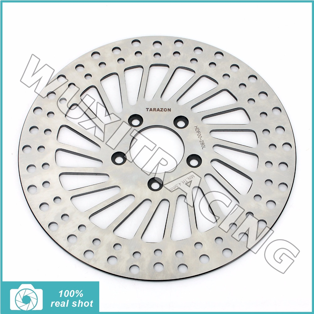 292mm New Front Brake Disc Rotor for HARLEY DAVIDSON Softail 1450 1584 1690 FLST FXCW FLSTF 1690 Fat Boy Touring FLHTCUSE2 1803 стоимость