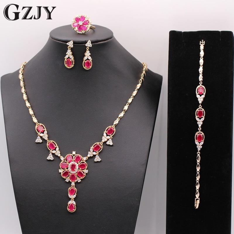 GZJY Κομψά Όμορφα Λουλούδια Σαμπάνια - Κοσμήματα μόδας - Φωτογραφία 1