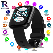 купить Sport Smart Watches Android Watch Women Fitness Tracker Men Waterproof Smart Watch With Heart Rate Blood Pressure Smartwatch IOS онлайн