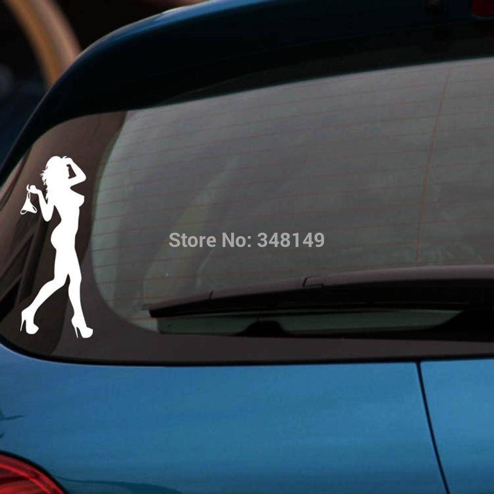 Aliauto стайлинга автомобилей секс Для женщин автомобиля Стикеры/наклейки motorcycel Светоотражающие Стикеры крышка для автомобилей Chevrolet Cruze Ford ...