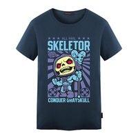 Skeletor Avater T 셔츠 디자인 영감을 그는-남자 마스터 우주 스타일의 멋진 참신 재미 Tshirt 남성 여성 인쇄