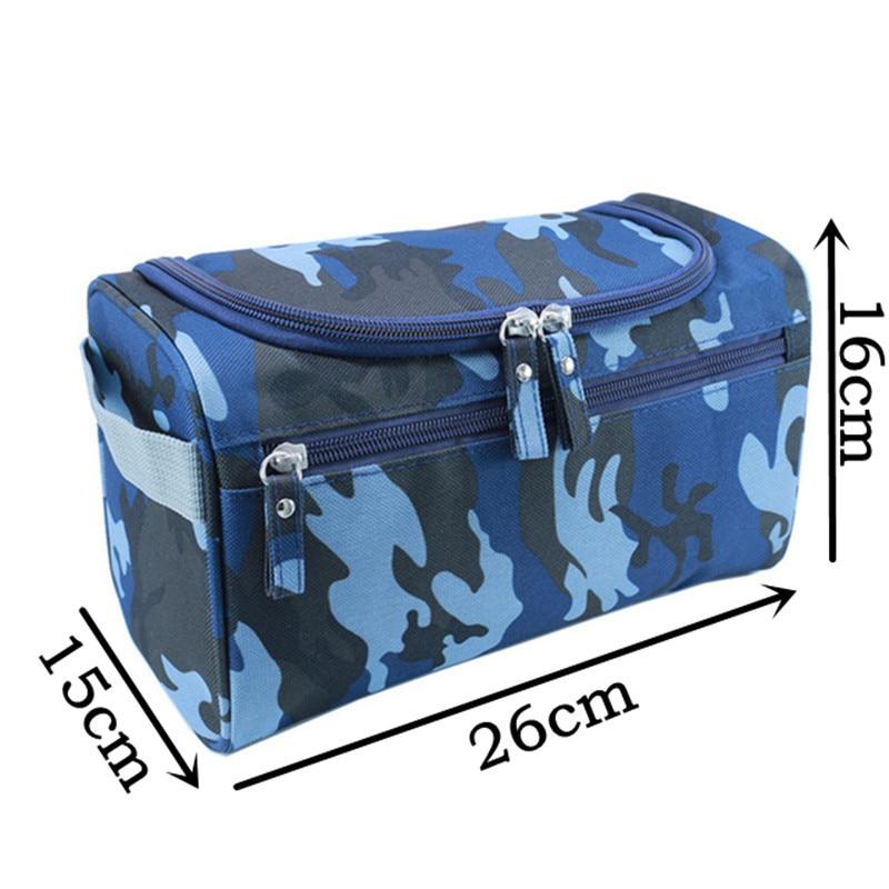 Man Hanging Toiletry Bag Nylon Travel Organizer Cosmetic Bag For Women Large Necessaries Make Up Case Wash Makeup Bag