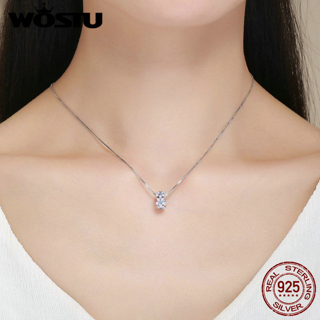 WOSTU Real 925 Sterling Silver Romantic Orchid Silicon Stopper Beads fit Wostu Original DIY Charm Bracelet Jewelry Gift DXC601