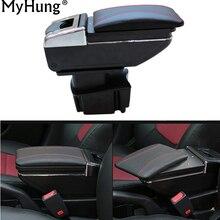 Автомобиль Подлокотник центральной консоли коробка для хранения для Kia Rio K2 2011 2012 2013 2014 2015 2016 Авто Интимные аксессуары автомобиля стиль