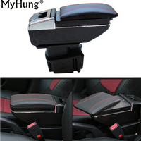 1 Set Car Armrest Center Console Storage Box Auto Accessories For KIA 2011 2012 2013 2014