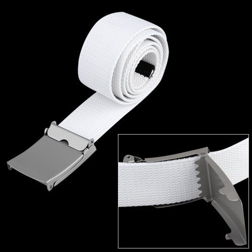 2017 NEW Canvas cotton white   belt     belts   textile Ribbon   belt