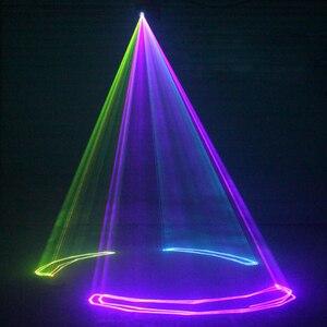 Image 4 - Alien 500 Mw 1W Rgb Full Color Animatie Laser Projector Dmx Beam Scanner Dj Disco Party Holiday Bar Xmas podium Verlichting Effect