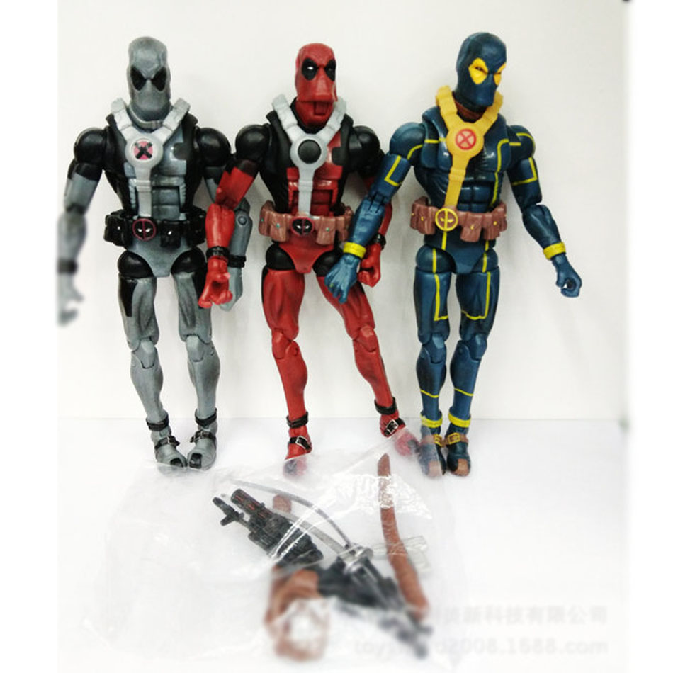 Deadpool 1pcs/set 18cm 3 color marvel x man action anime figures movie...