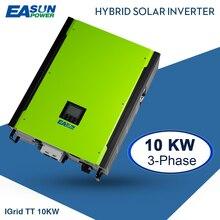 EASUN güç 10KW güneş invertör 48V 380V şebeke bağlantı invertörü 3 fazlı ızgara şebekeden bağımsız invertör Max güneş enerjisi 14850W MPPT