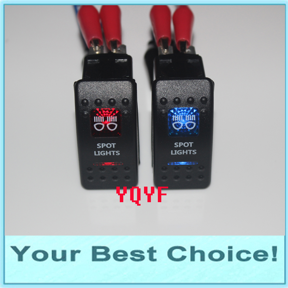 Ip68 Waterproof 24v 10a12v 20a Car Auto Marine Boat Push Button Wire Momentary Spst Switch For Autoin
