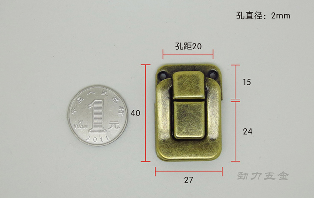 Archaize peace day word buckle buckle lock moon cake box accessories antique gift boxes accessories 2053 b