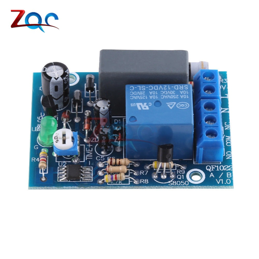 Delay Relay Timer AC 220 V 0-10min 0-10h 0-100min Delay Switch Module Adjustable Timer to Choose from 0-10s