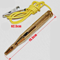 ObdTool 2017 Auto Car Test Pencil Copper Electronic Test Pen DC 6V-24V Voltage Test Pencil Free Shipping