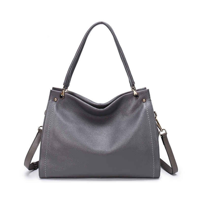Fashion Women Handbags Genuine Leather Large Capacity Casual Tote Bags Multi-functional Lady Shoulder Crossbody Bag sac a main women laptop tote bags multi pockets handbags lady top handle shoulder bags large female crossbody bag bolsa feminina sac a main