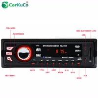 CARKUCO Car MP3 Player FM Radio Bluetooth 1 DIN Car Audio Car Stereo Digital Media U Disk Secure AUX IN Auto MP3 Players