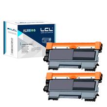 LCL TN2010 TN 2010 ( 2-Pack Black 1000 pages ) Laser Toner Cartridge Compatible for Brother HL-2130 2132 DCP-7055 7057
