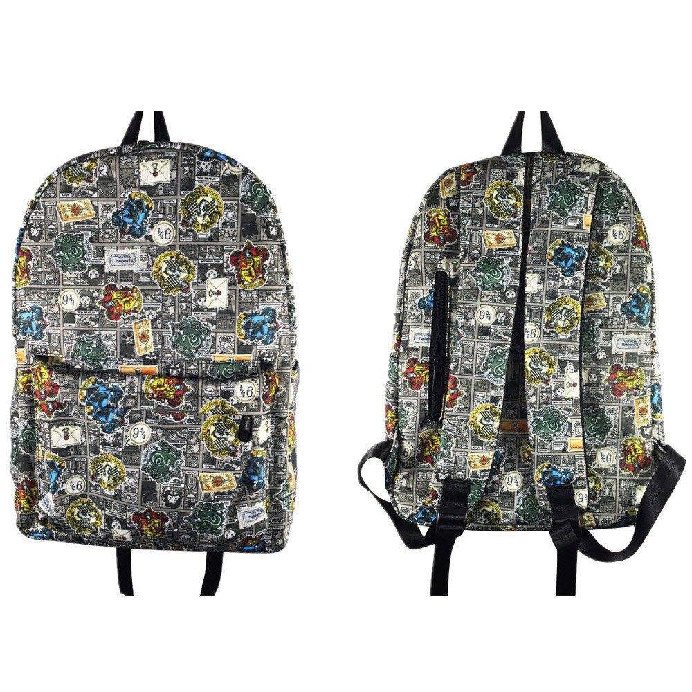 Anime Harry Potter Gryffindor Backpack Hufflepuff Schoolbag Slytherin Teenager Bookbag Travel Laptop Shoulder Bags GiftAnime Harry Potter Gryffindor Backpack Hufflepuff Schoolbag Slytherin Teenager Bookbag Travel Laptop Shoulder Bags Gift