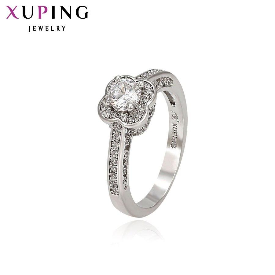 3s S18 Herzhaft Xuping Mode Elegante Ring Förderung Synthetische Zirkonia Für Frauen Neue Stil Schmuck Geschenk S30 2-13300