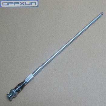 OPPXUN drążek sterowniczy VHF 136-174mhz antena BNC dla Icom IC-V82 V8 V85 V80 dla Kenwood TK208 TK308 itp walkie talkie tanie i dobre opinie 1800 CN (pochodzenie) Przenośne 3 km-5 km 3 w-5 w 26CM-100CM Metal