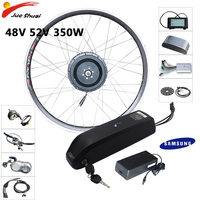 Ebike kit 48V/52V 350W Geared Motor Wheel 15ah 18ah Samsung LG Hailong Battery LCD Panel Electric Bicycle Conversion Kit E bike