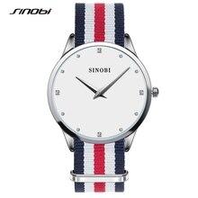 SINOBI Women Watches New Luxury Brand Ultra Thin Clock 30m Waterproof Casual Sport Watch Women Wrist Quartz Watch Montres SW02