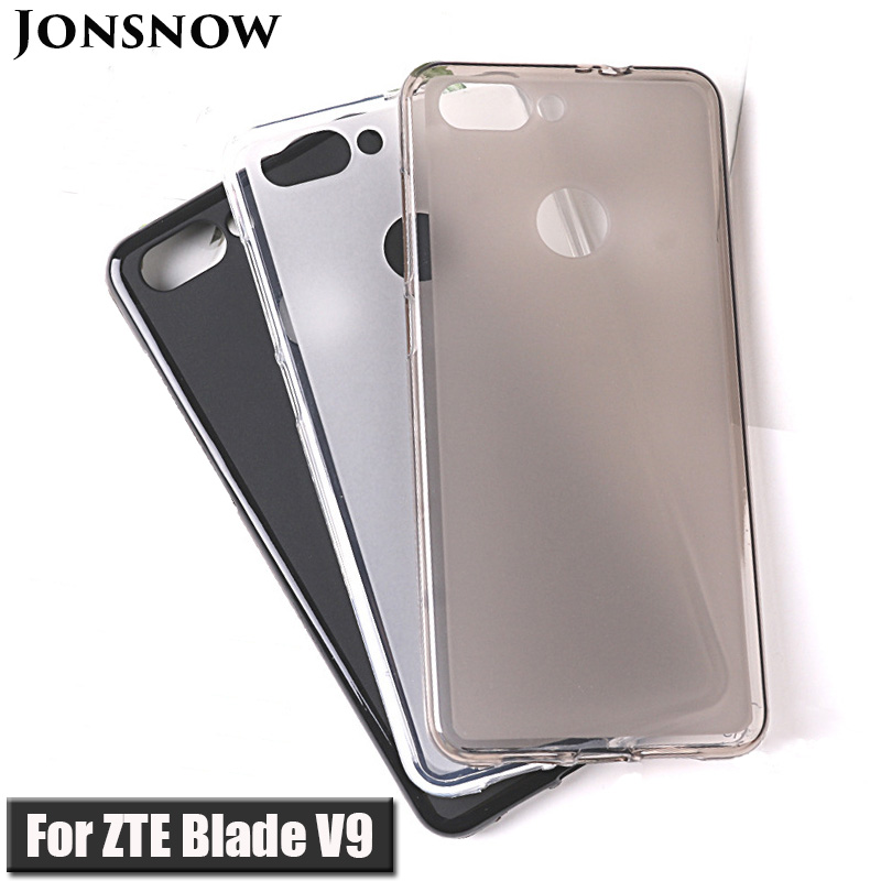 Soft Case For ZTE Blade V9 Soft Silicone Protective Pudding Case For ZTE Blade V9 TPU Cover Case 5.7 Inch