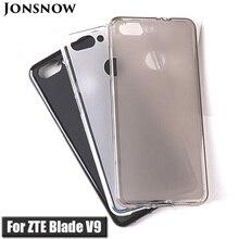 Funda blanda para ZTE Blade V9 de 5,7 pulgadas, funda protectora de silicona para ZTE Blade V9 Vita de 5,45 pulgadas, fundas de TPU