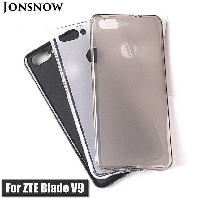 """Miękkie etui do ZTE Blade V9 5.7 """"miękkiego silikonu ochronna budyń pokrywa dla ZTE Blade V9 Vita 5.45"""" etui tpu"""