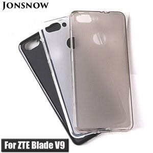 Image 1 - Мягкий чехол для ZTE Blade V9 5,7 дюйма, мягкий силиконовый защитный чехол для пудинга для ZTE Blade V9 Vita 5,45 дюйма, чехол из ТПУ s