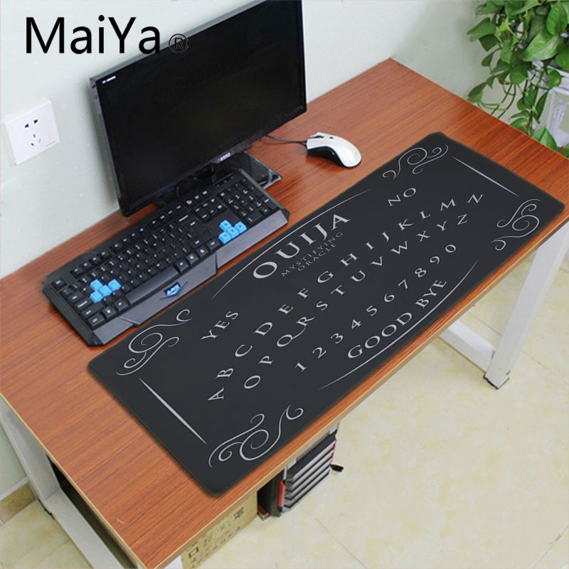 ALI shop ...  ... 33002506248 ... 5 ... Maiyaca Ouija Board Rubber Mouse Durable Desktop Mousepad 700*300mm gaming mouse pad Speed Keyboard Mouse mat Laptop desk pad ...
