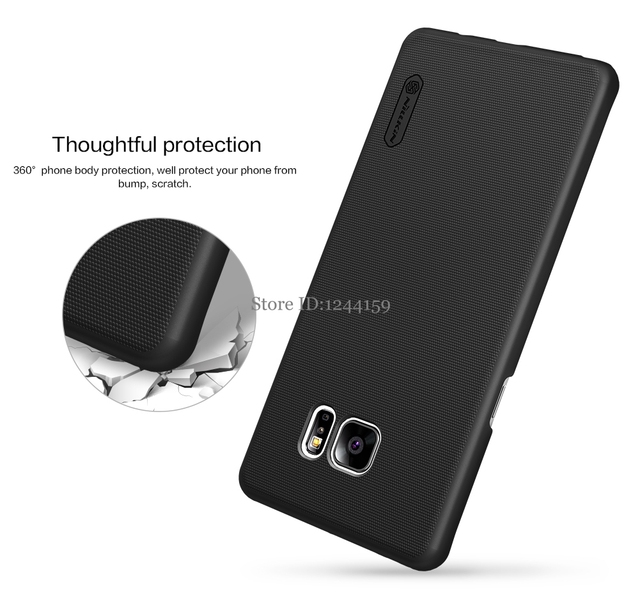 Case For Samsung Galaxy Note FE (Fan Edition) NILLKIN Super Frosted Shield back cover with Gift